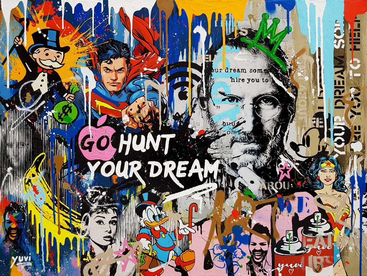 Go Hunt Your Dream by yuvi -  sized 40x30 inches. Available from Whitewall Galleries